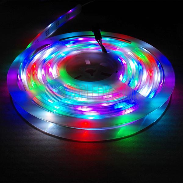 huge selection of 5cf11 1c699 [Hot Item] Waterproof IP68 5050 Digital RGB LED Strip with High Quality