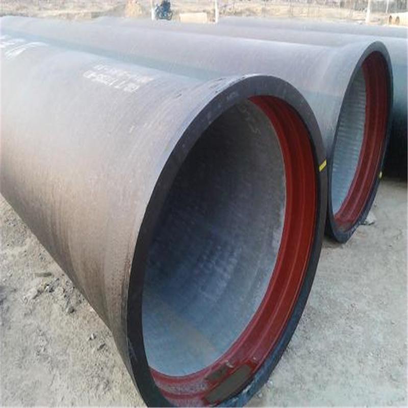 [Hot Item] Black Iron Pipe All Specifications Ductile Iron Pipe Fittings  for Landfill Storage