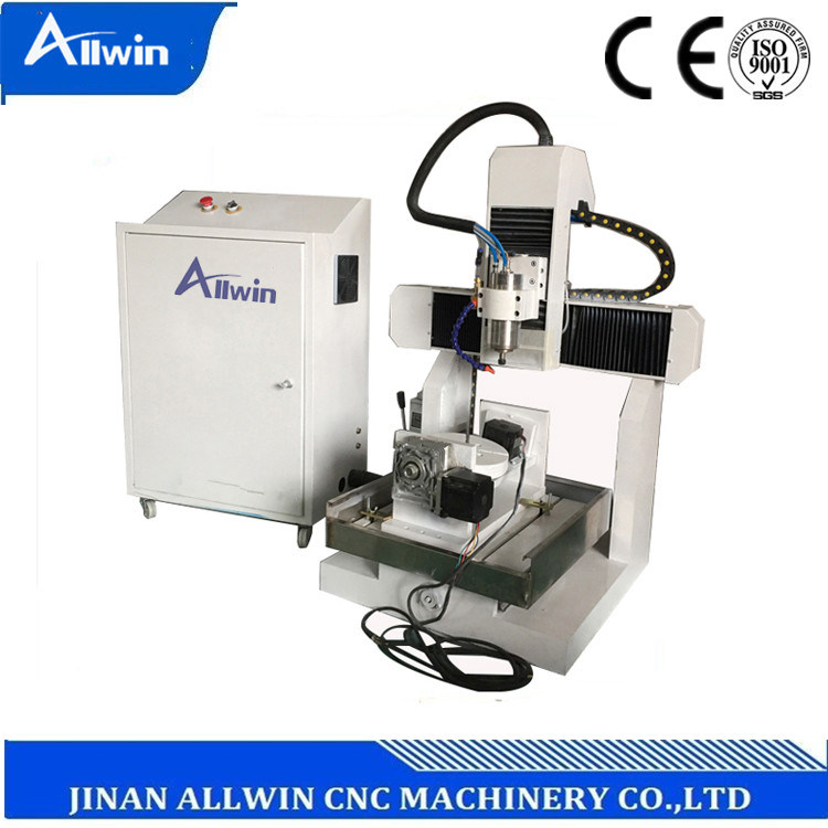 China Steel Aluminum Iron Milling Machine Diy Cnc Router 5 Axis For