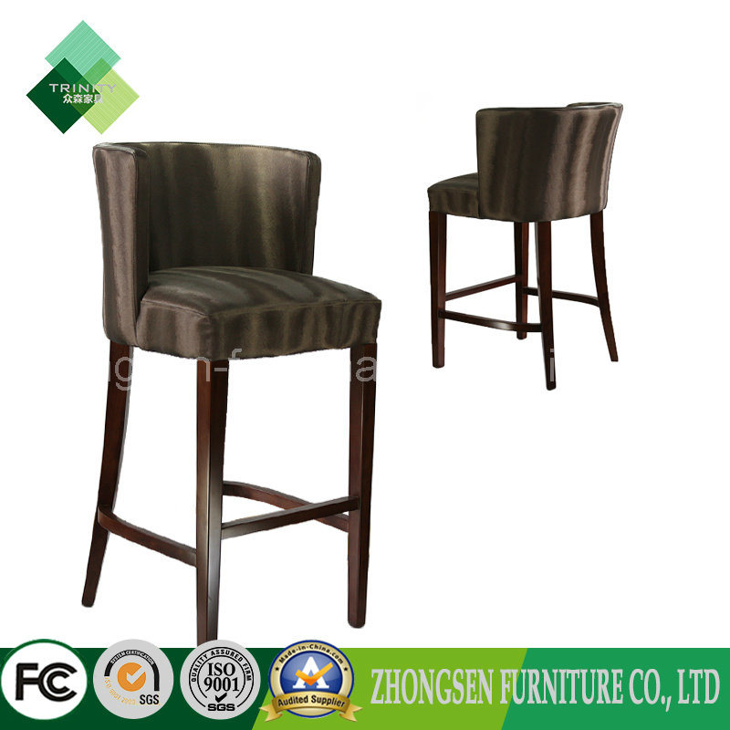 China Custom Hotel Furniture Bar Stool Bar Chairs For Sale Zsc 58