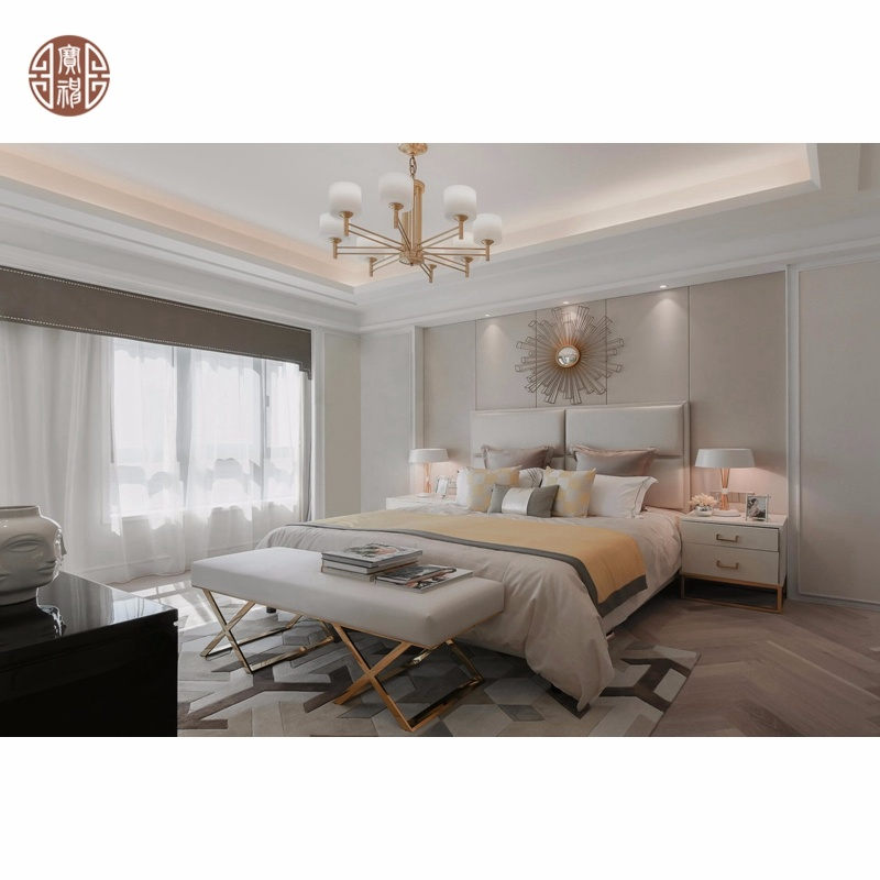 China 2020 High End Rose Gold Stainless Steel Frame Living Room Furniture And Bedroom Furniture Set China 3 Seat Sofa Direct Furniture Manufacturer