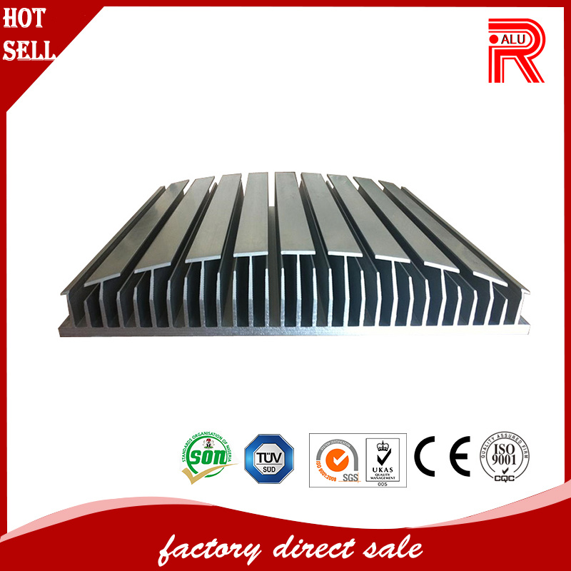 China Aluminum/Aluminium Extrusions for Industrial Heat Sink
