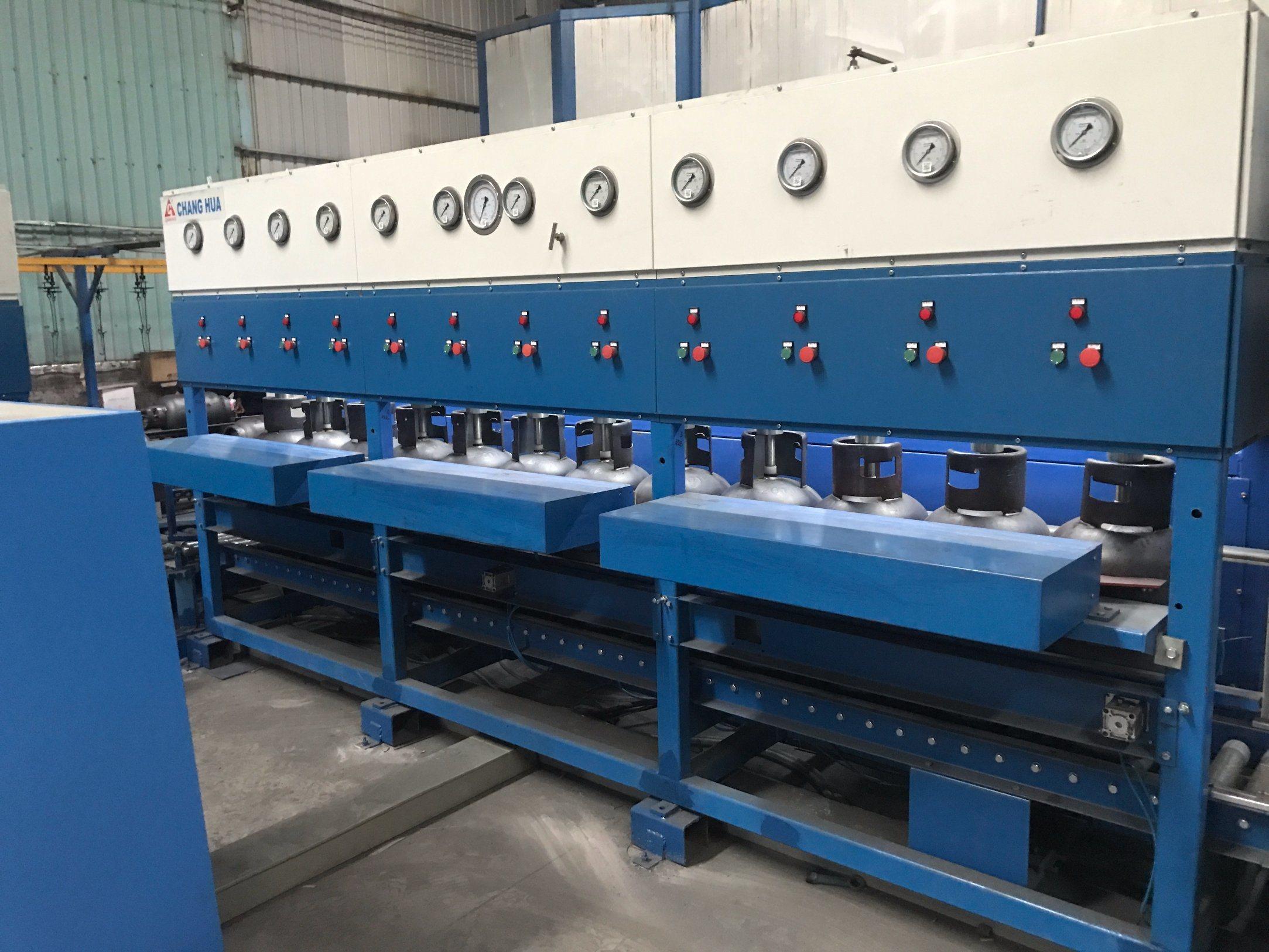 [Hot Item] LPG Gas Cylinder Hydrostatic Testing Line