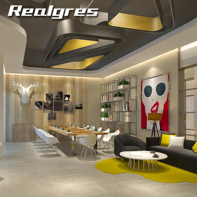 China Rustic Tiles New Model Flooring Like Stone Big Size Thin Tiles