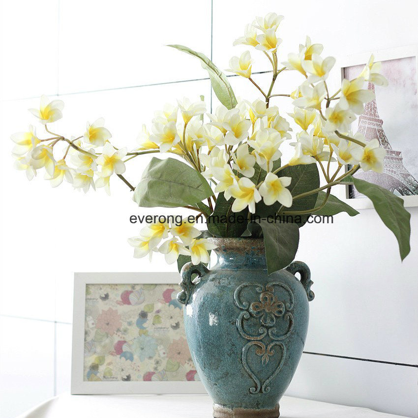 China Canada Silk Plumeria Flower Bouquet; Silk Plumeria Flowers ...