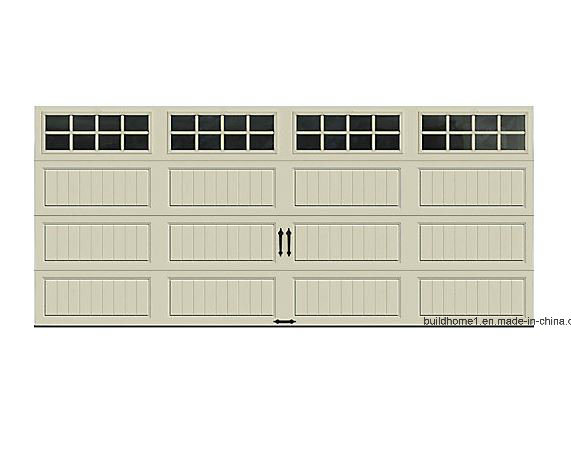 China Gallery Collection65 R Value Insulated Desert Tan Garage Door