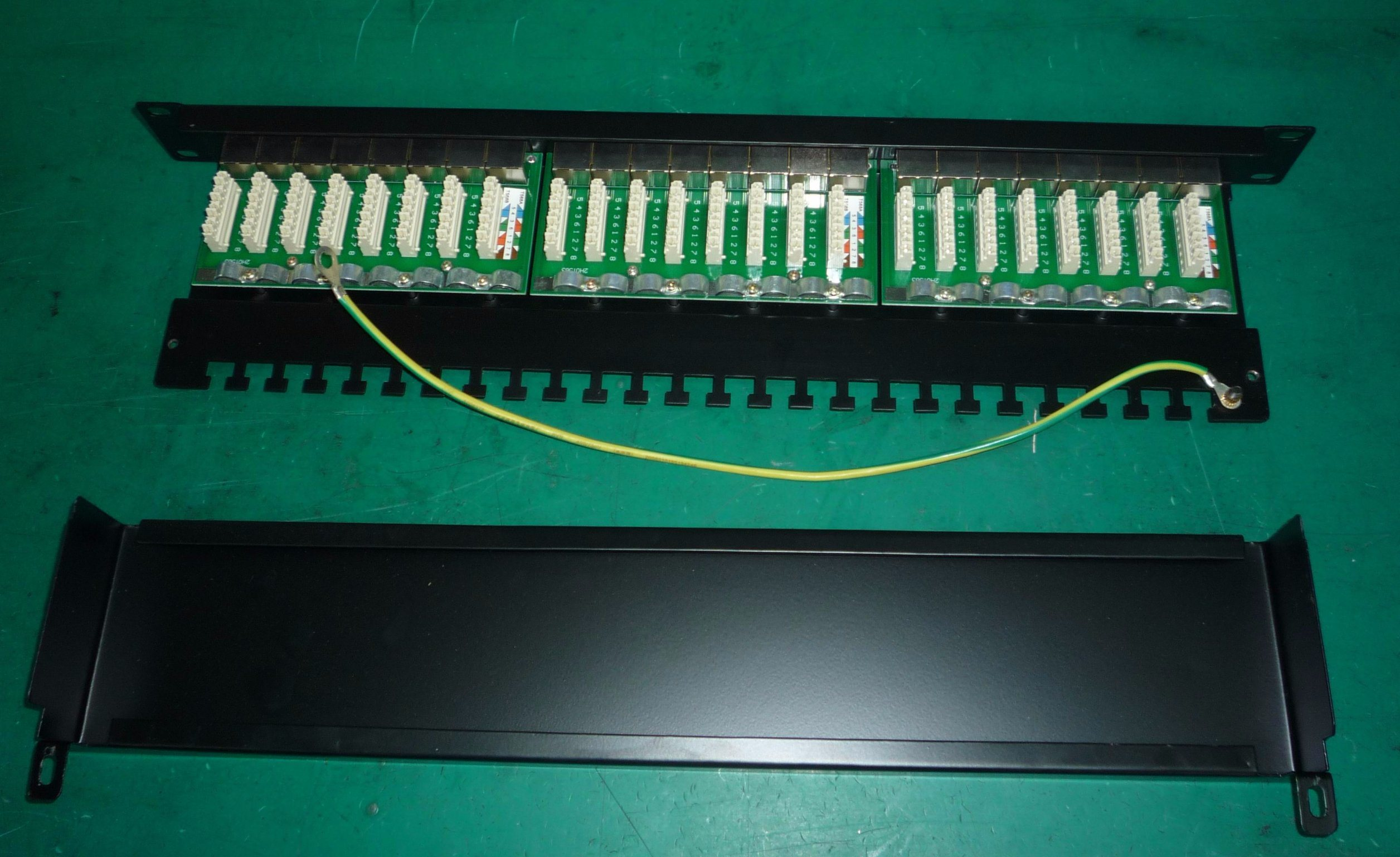 China 19 Krone 12 Port Cat5e Cat6 Patch Panel Photos Pictures Cat 6 Wiring