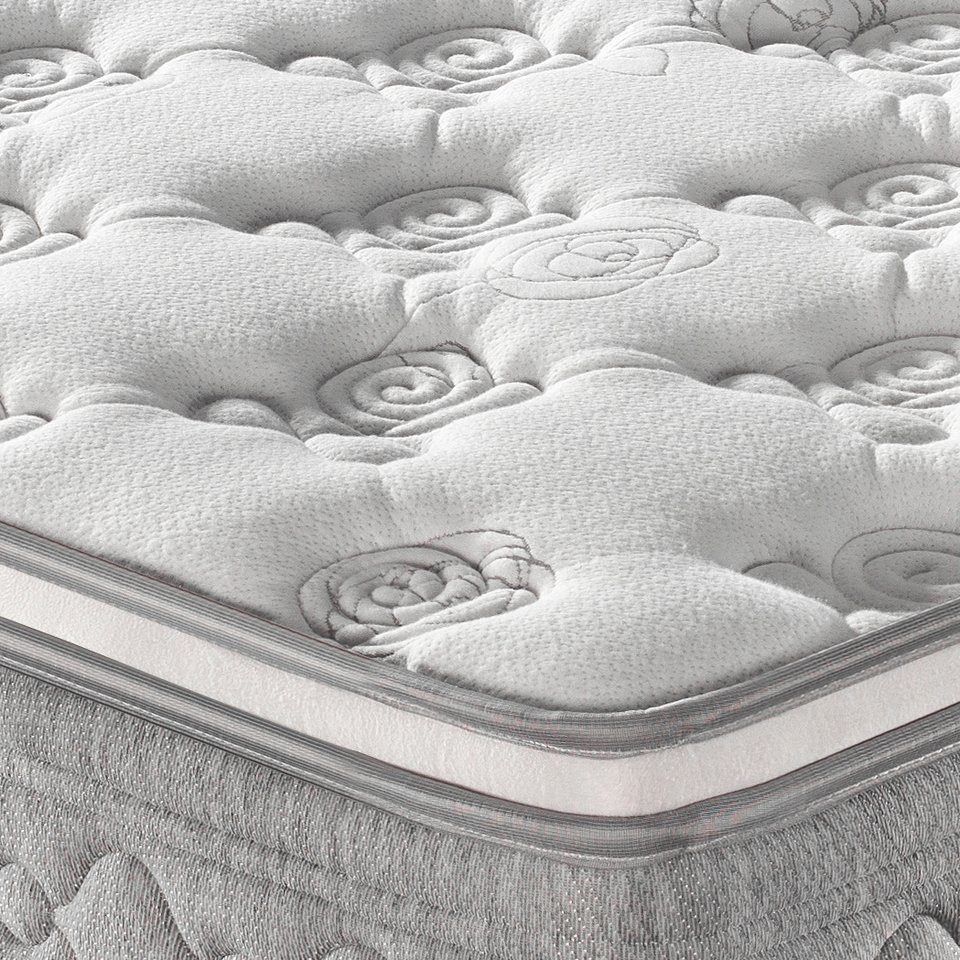High Carbon Fine Steel Spring Mattress with Foam for Hotel and Home (FB738) pictures & photos