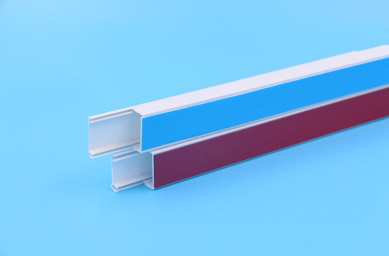China Hot Sale 16X16mm Sticker Type PVC Electrical Wire Trunking ...