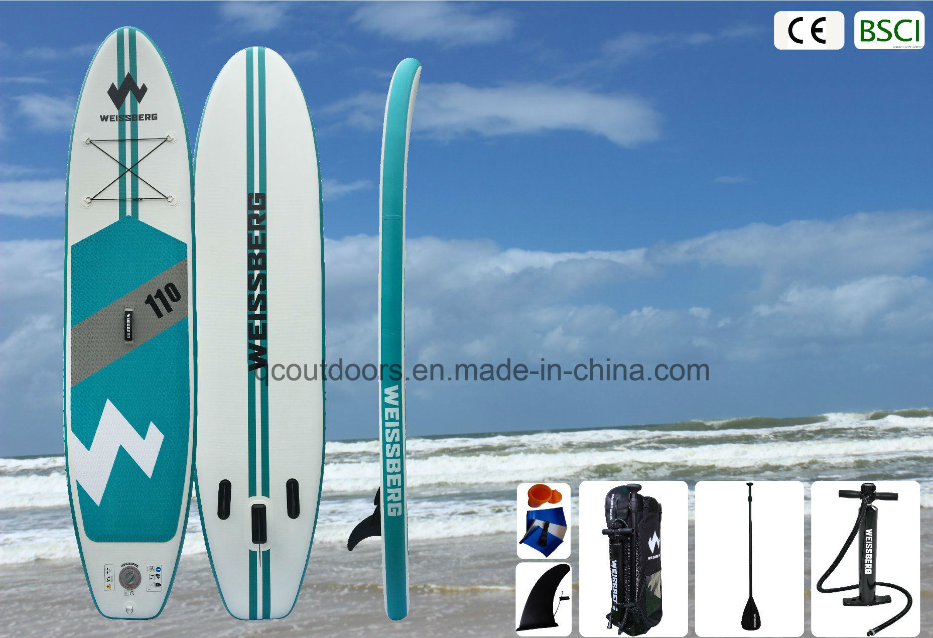 Hi Tech Dropstitch Infalatable Stand up Paddle Board pictures & photos