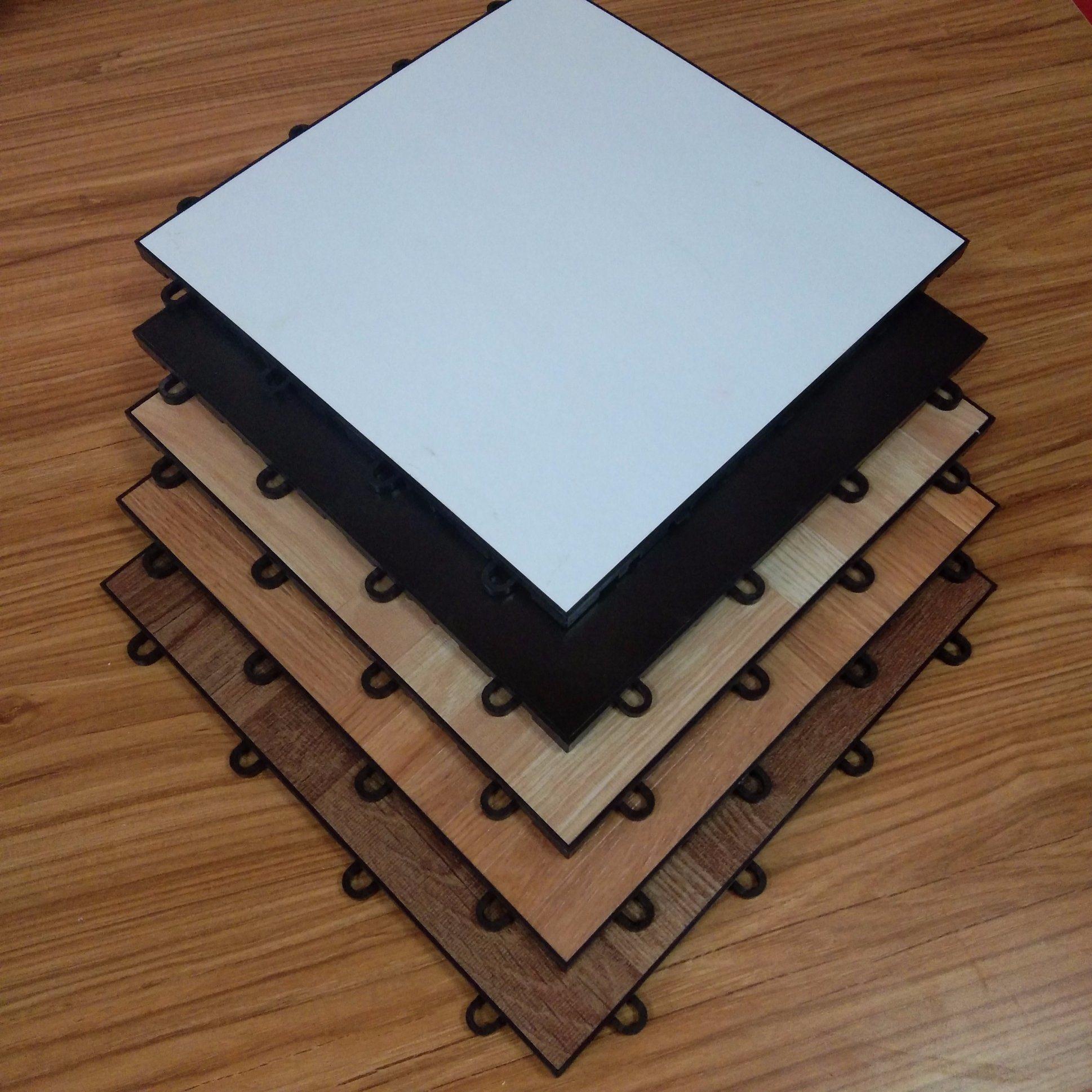 China Anti Slip Plastic Floor Mat Eco Friendly Interlocking Dance
