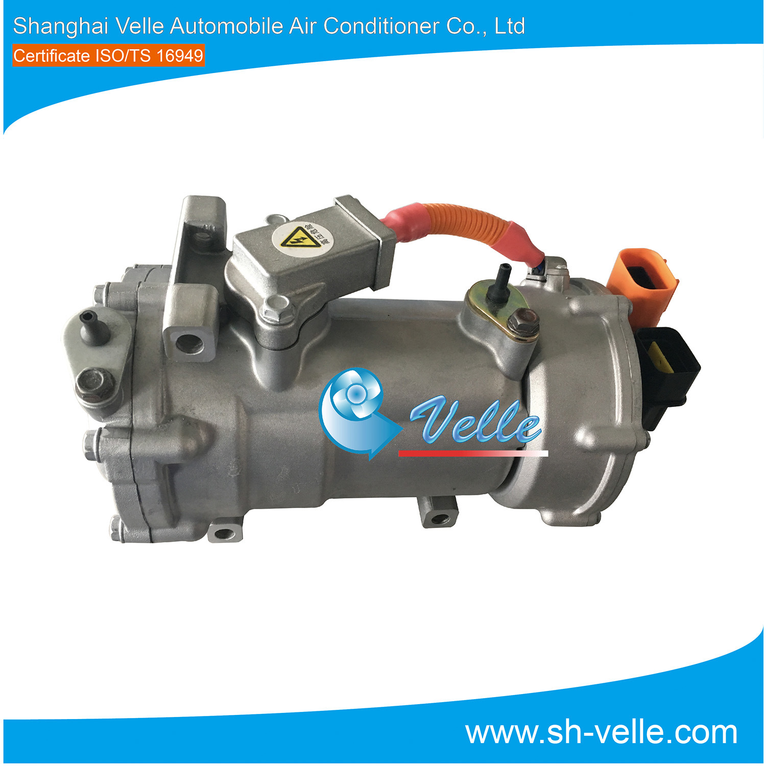 China Ac Compressor For Electric Cars Electronic Vehicle
