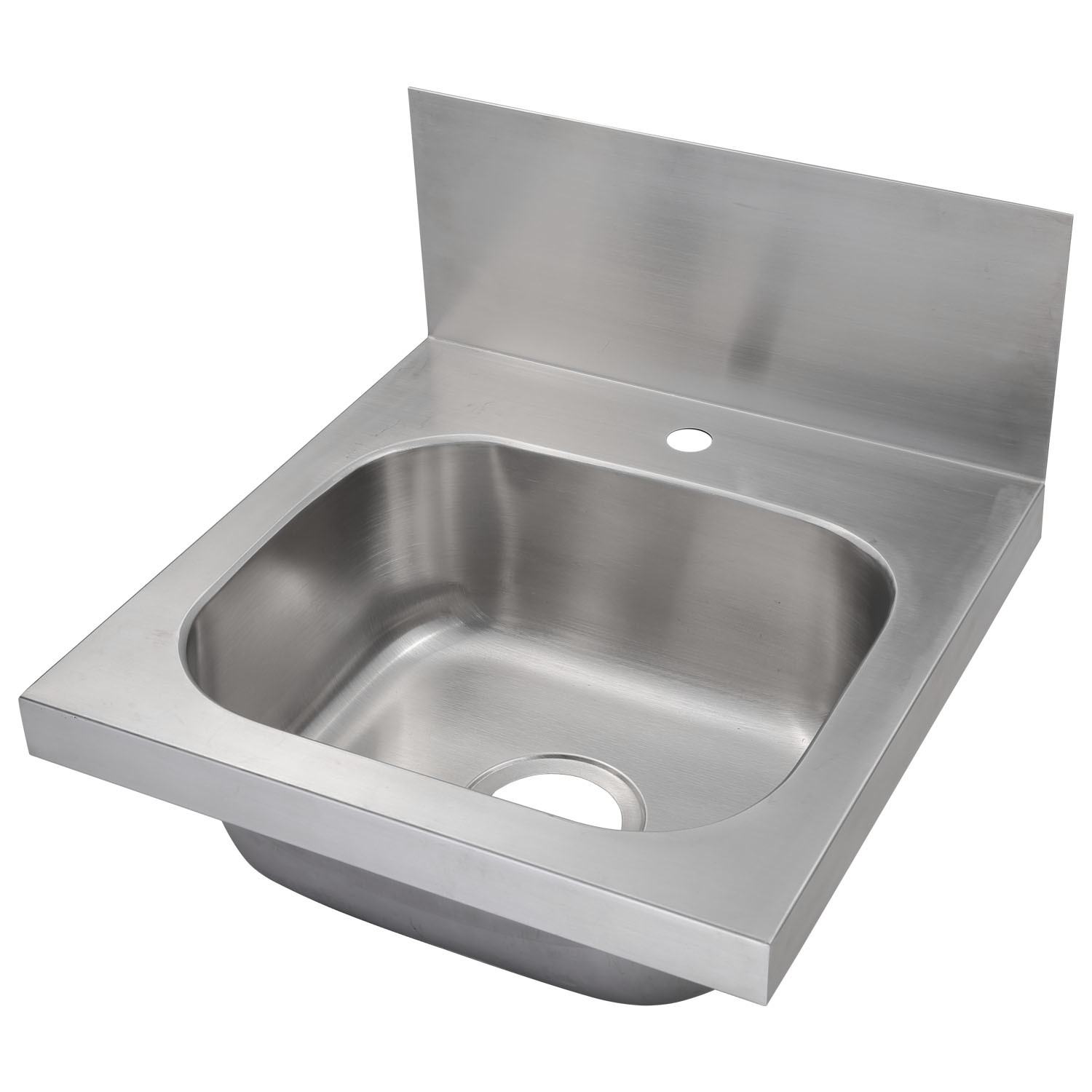 - China Wall Mounted Stainless Steel Commercial Hand Sink With