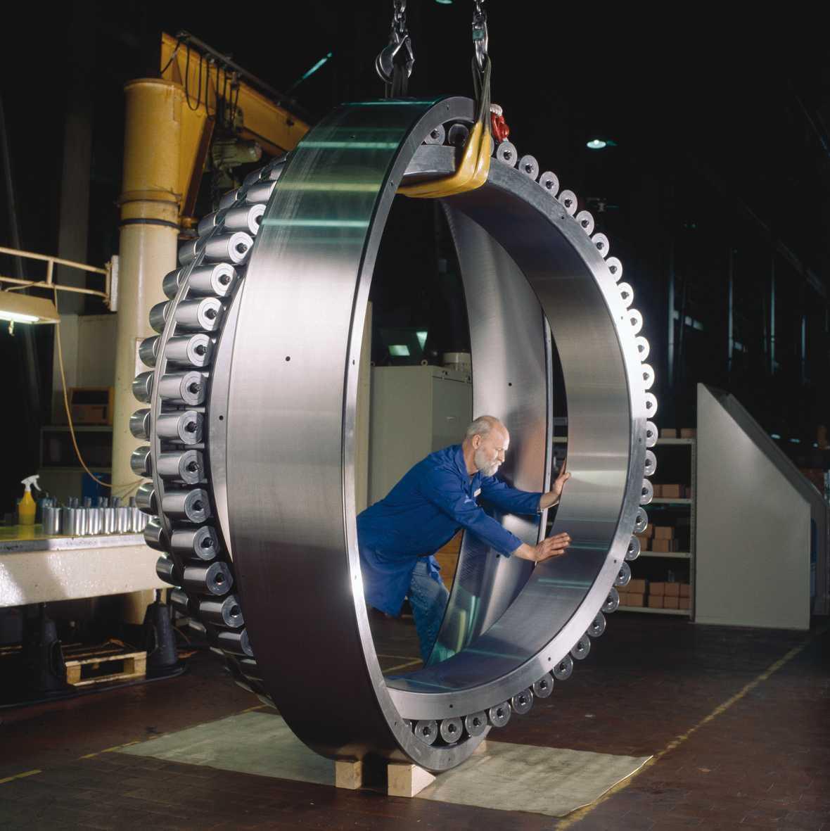 China Big Dimension Spherical Roller Bearings 24192