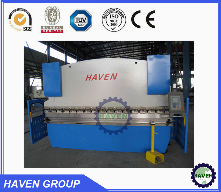 WE67K-250X3200 CNC Electric Hydraulic Synchronization Hydraulic Press Brake pictures & photos