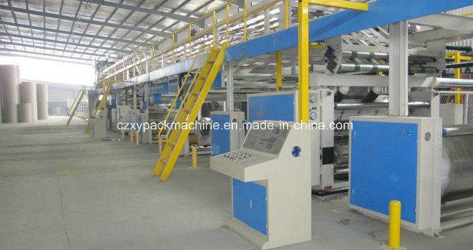 China 3/5/7ply Automatic Corrugated Cardboard Making Plant