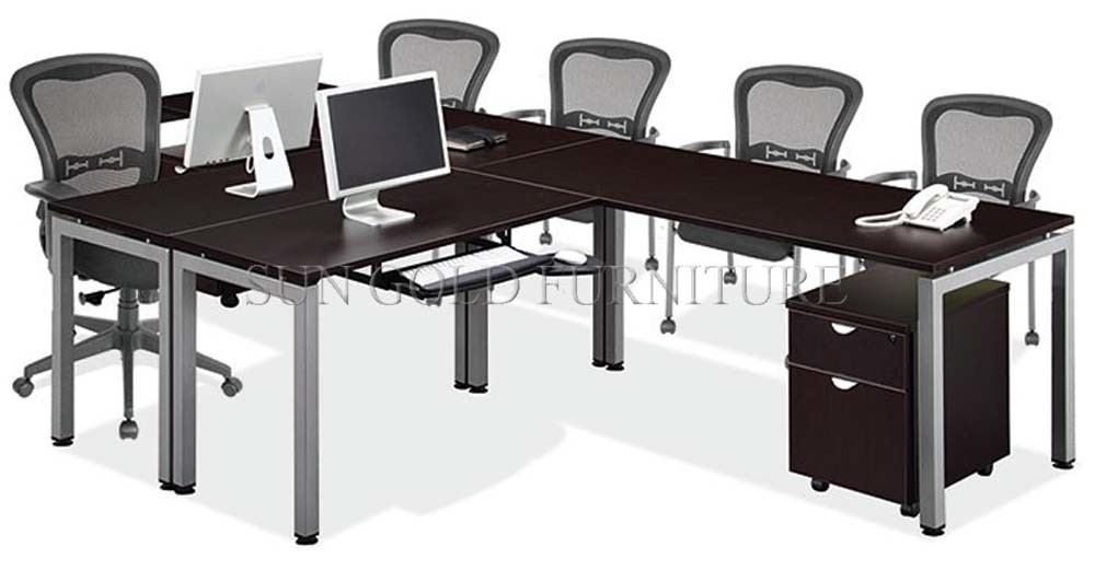 China Discussion Melamine Meeting Office Desk Conference Contracted Table Sz Od329