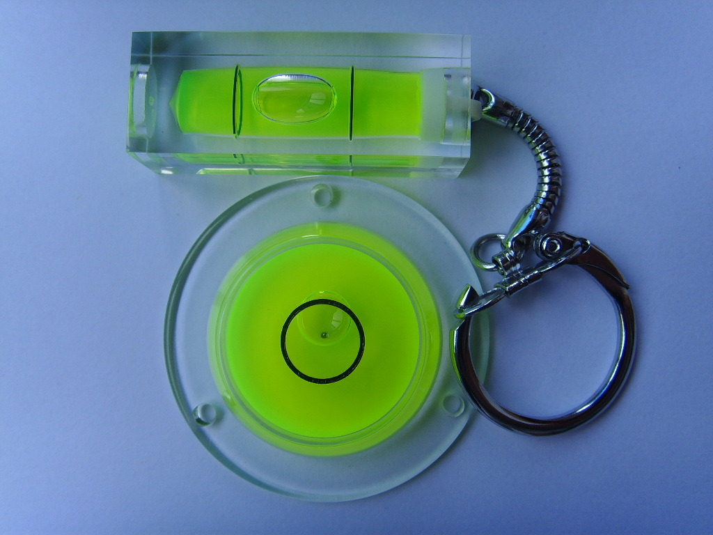 Spirit Level With Key Chain (EV-V912)