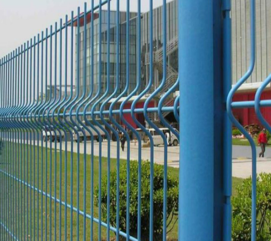 China Highway Playround Courtyard Wire Mesh Fence Photos & Pictures ...