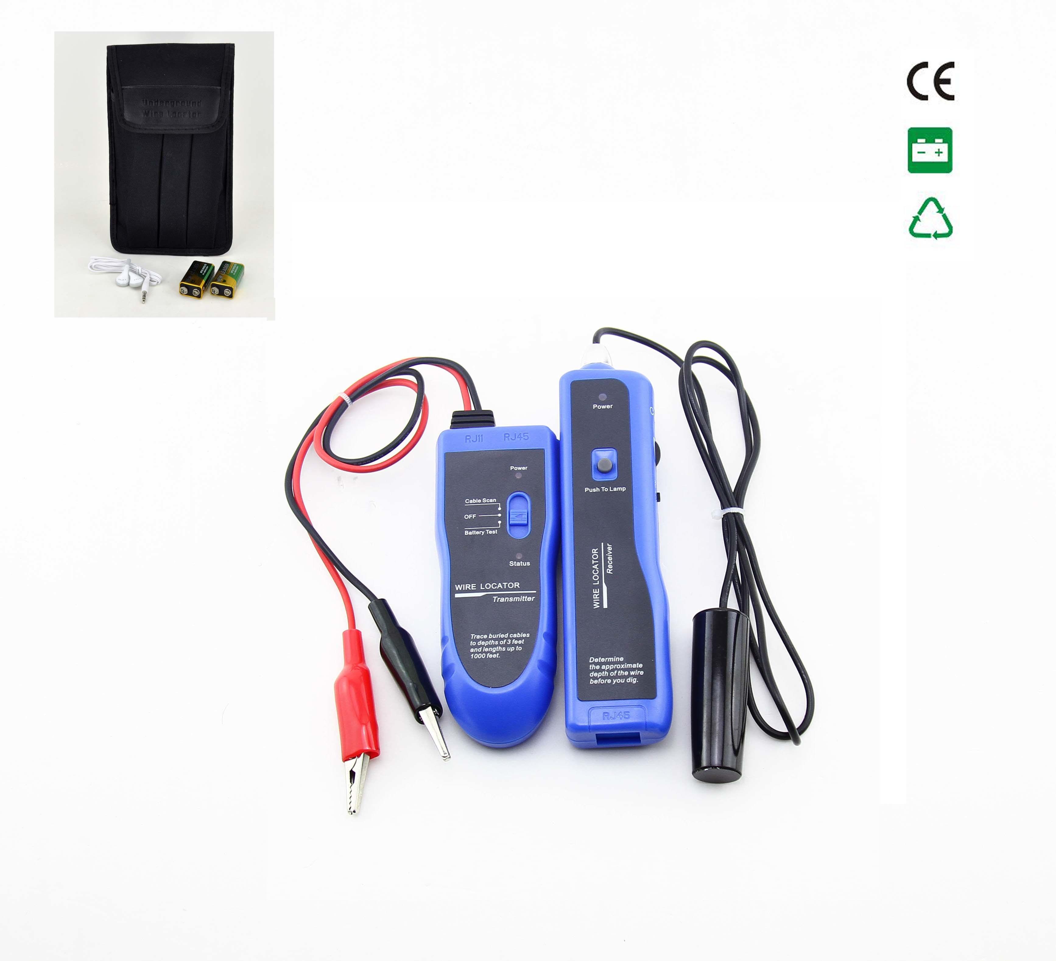 Wire Locator Detector : China hidden cable wire locator detector nf