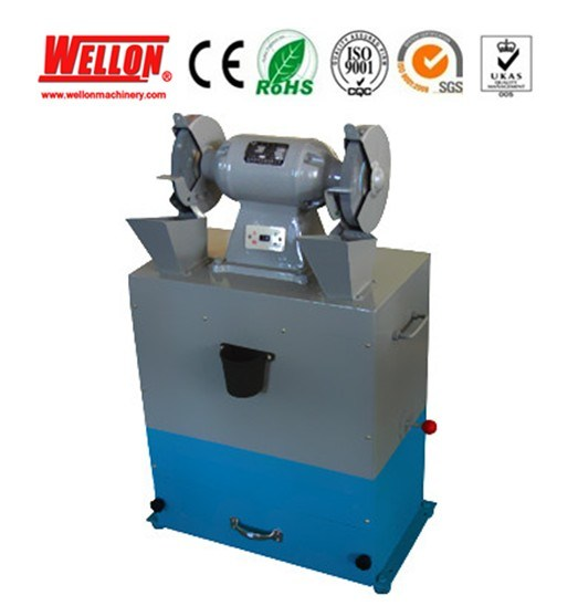 China Bench Grinder With Dust Sucking Dust Collector