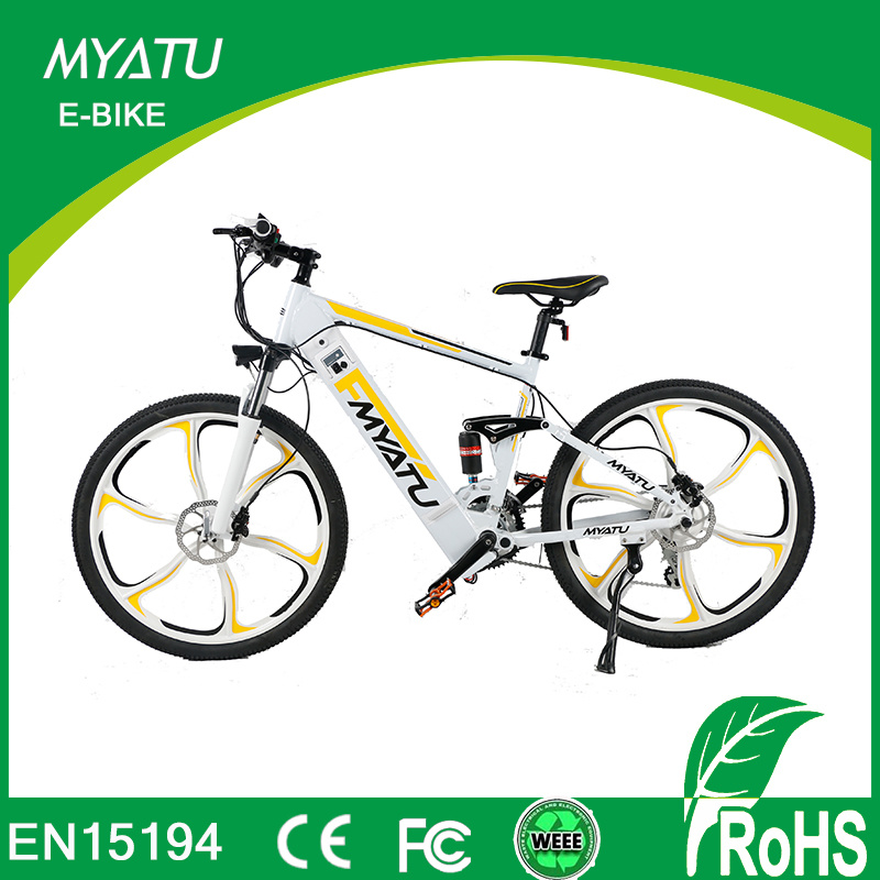 China Aluminum Alloy Frame Bike Long Range Sport Electric Mountain ...
