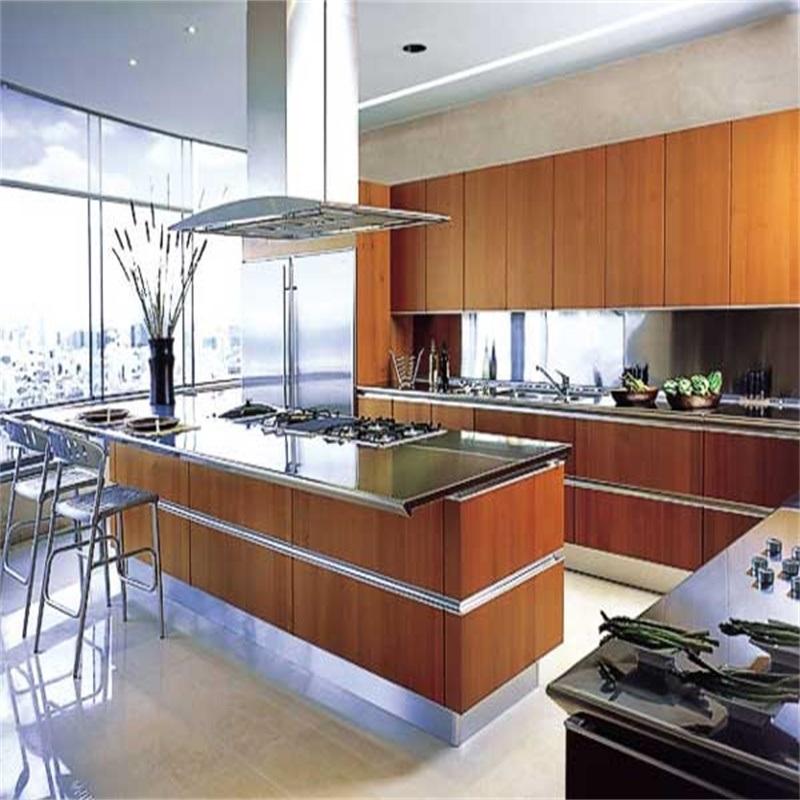China American Standard Mdf Modern Uv Acrylic Kitchen Cabinets