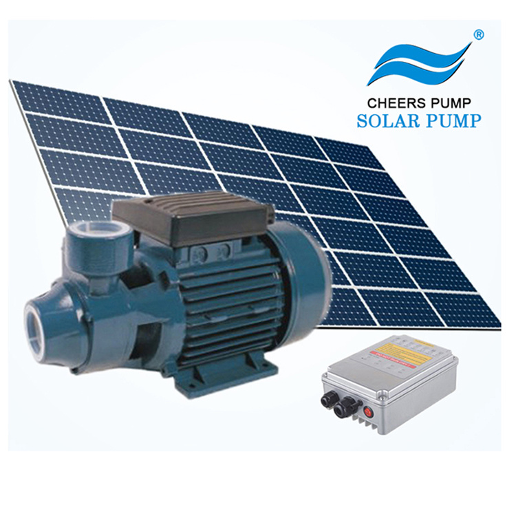 Jintai 24V, 36V Solar DC Brushless Motor Surface Irrigation Pump with MPPT Controller and 3 Years Warranty