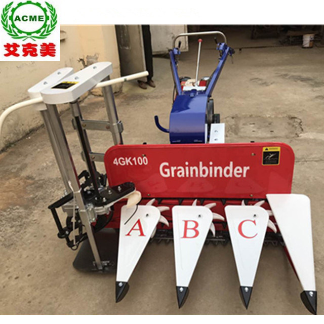 China Low Price Wheat Reed Corn Rice Reaper And Binder