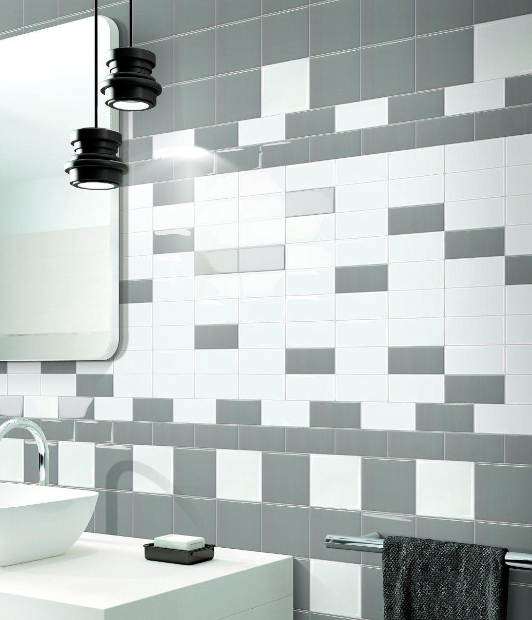 China Dark Grey 4X8inch/10X20cm Glazed Ceramic Tile Rustic Porcelain ...