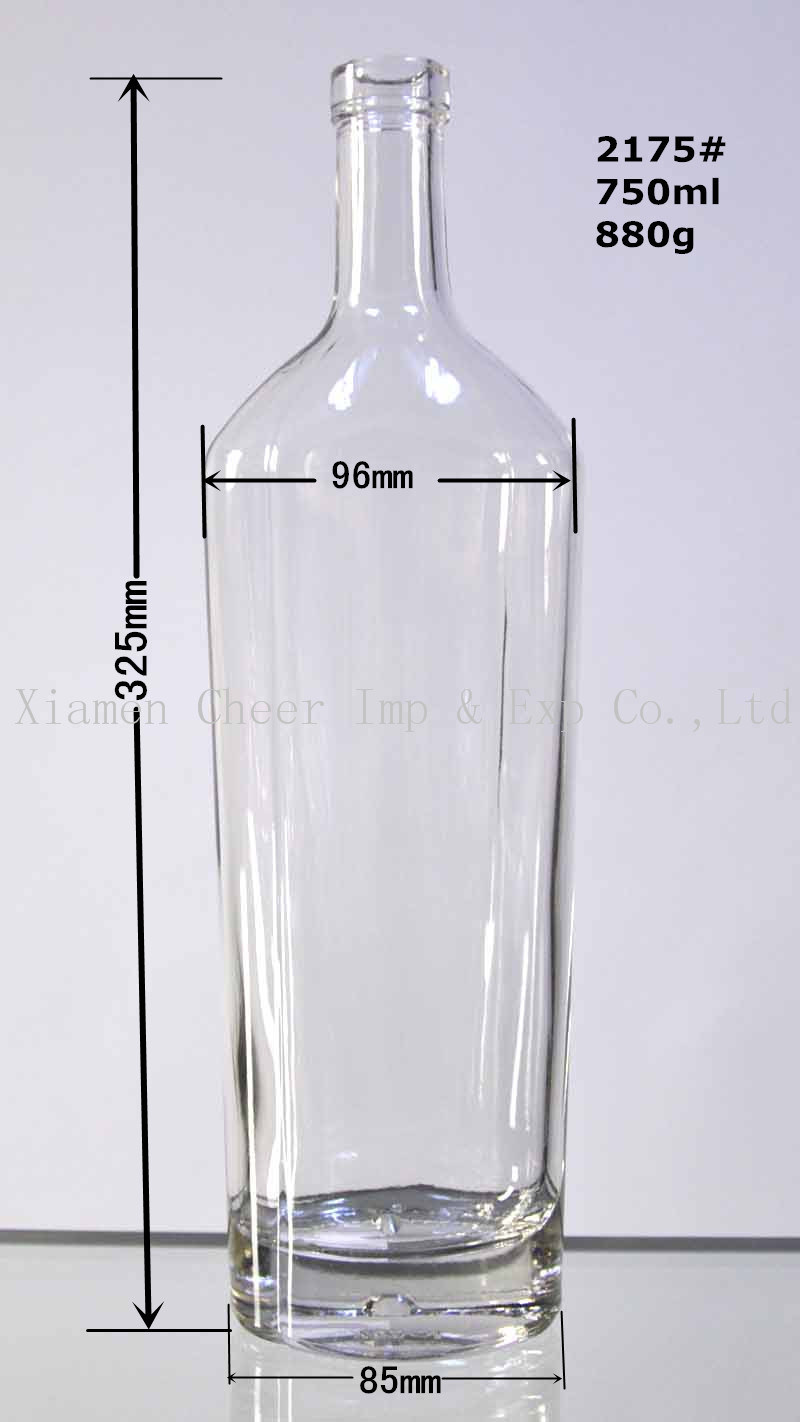 Wholesale Flat Bottles Buy Reliable From Memo Water Bottle A5 750ml Premium Grade Bpa Free Portable Kettle High Clear Glass Liquor For Vodka