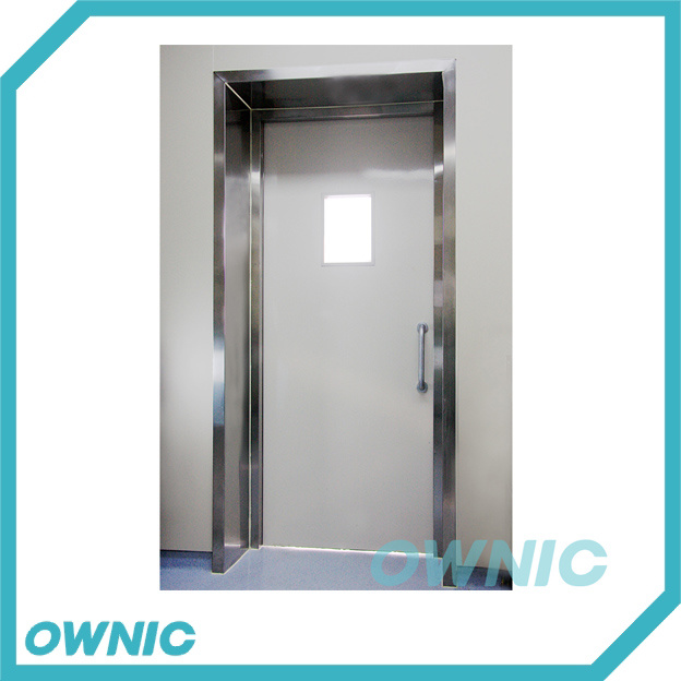 China Stainless Steel Frame Manual Swing Door for Hospital - China ...