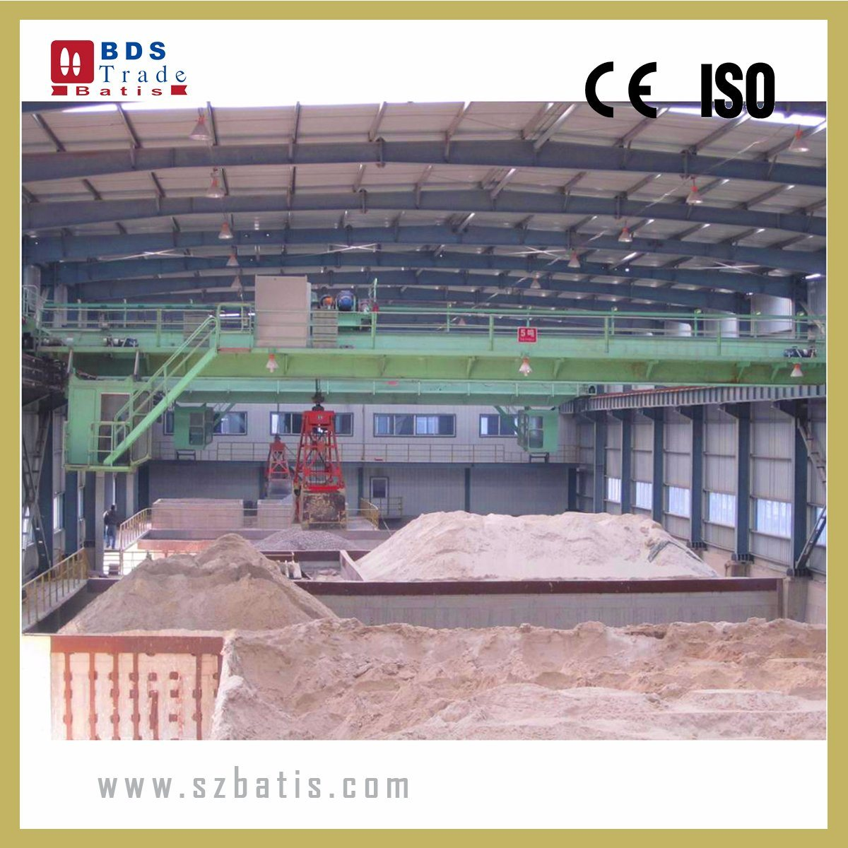 [Hot Item] Metal Industry Mechanical Grapple Overhead Crane with Hydraulic  Grapples