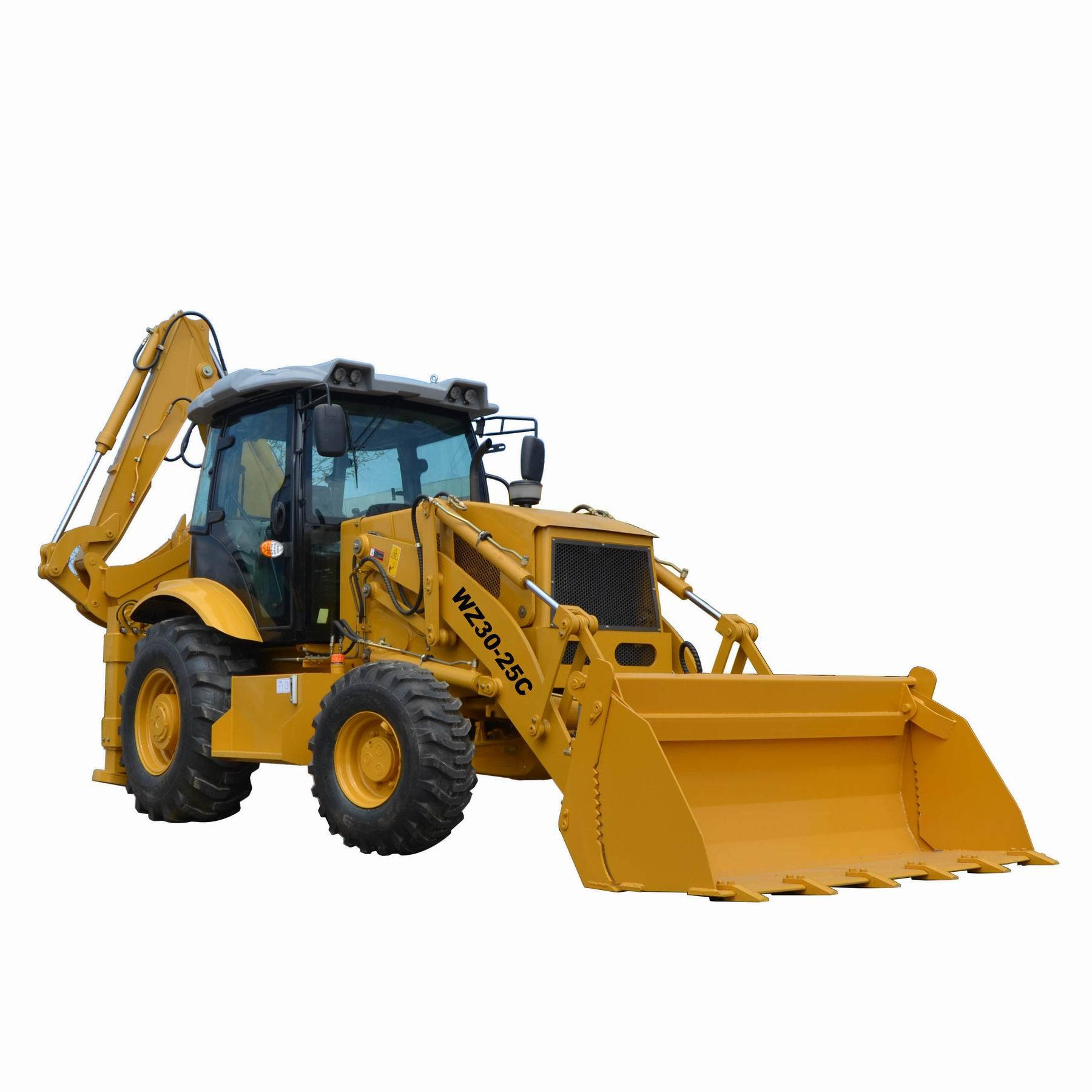 China New Small Wheel Type Backhoe Loader Price Factory