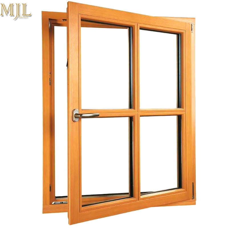 China Best Price Simple Aluminum Frame Design Double Glass Casement Window China Window Grill Design Aluminum Casement Window