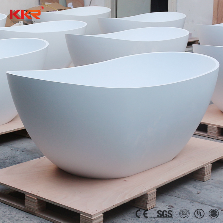 China Artificial Stone Corian Square Freestanding Bath Tub Photos ...
