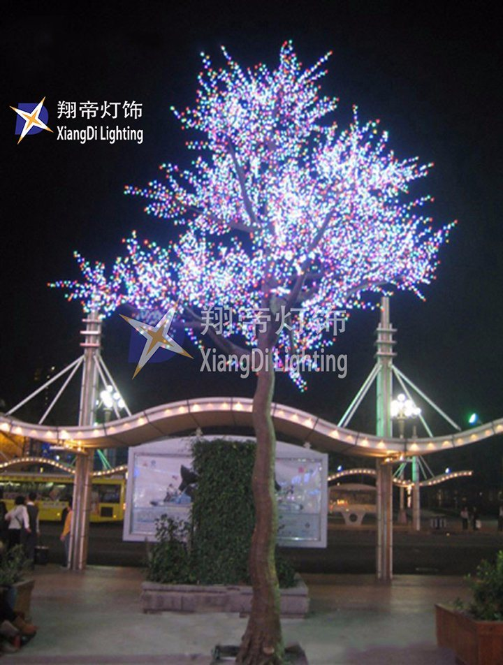 China 7m New Fashion Wholesale Christmas Tree LED Pink ...