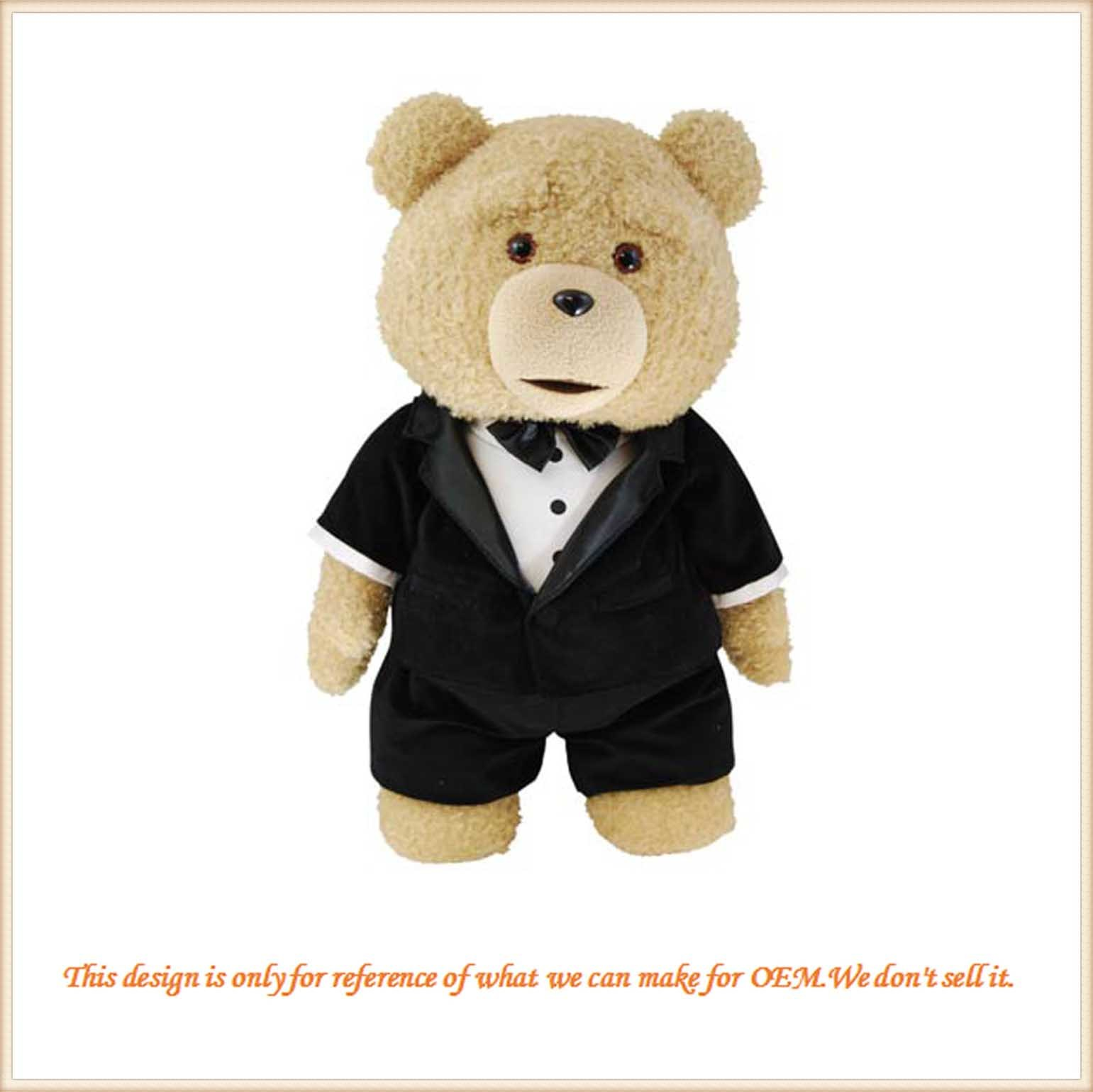 China New Design Plush Teddy Bear In Suit Gift For Friends China