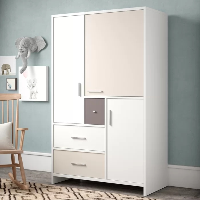 China Factory Design For Kids, Childrens Wardrobe Armoire