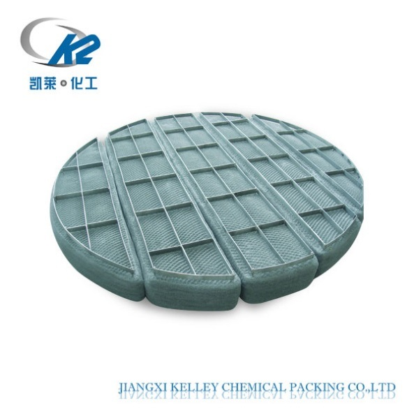 China Stainless Steel Knitted Wire Mesh Demister / Demister Pad Mist ...