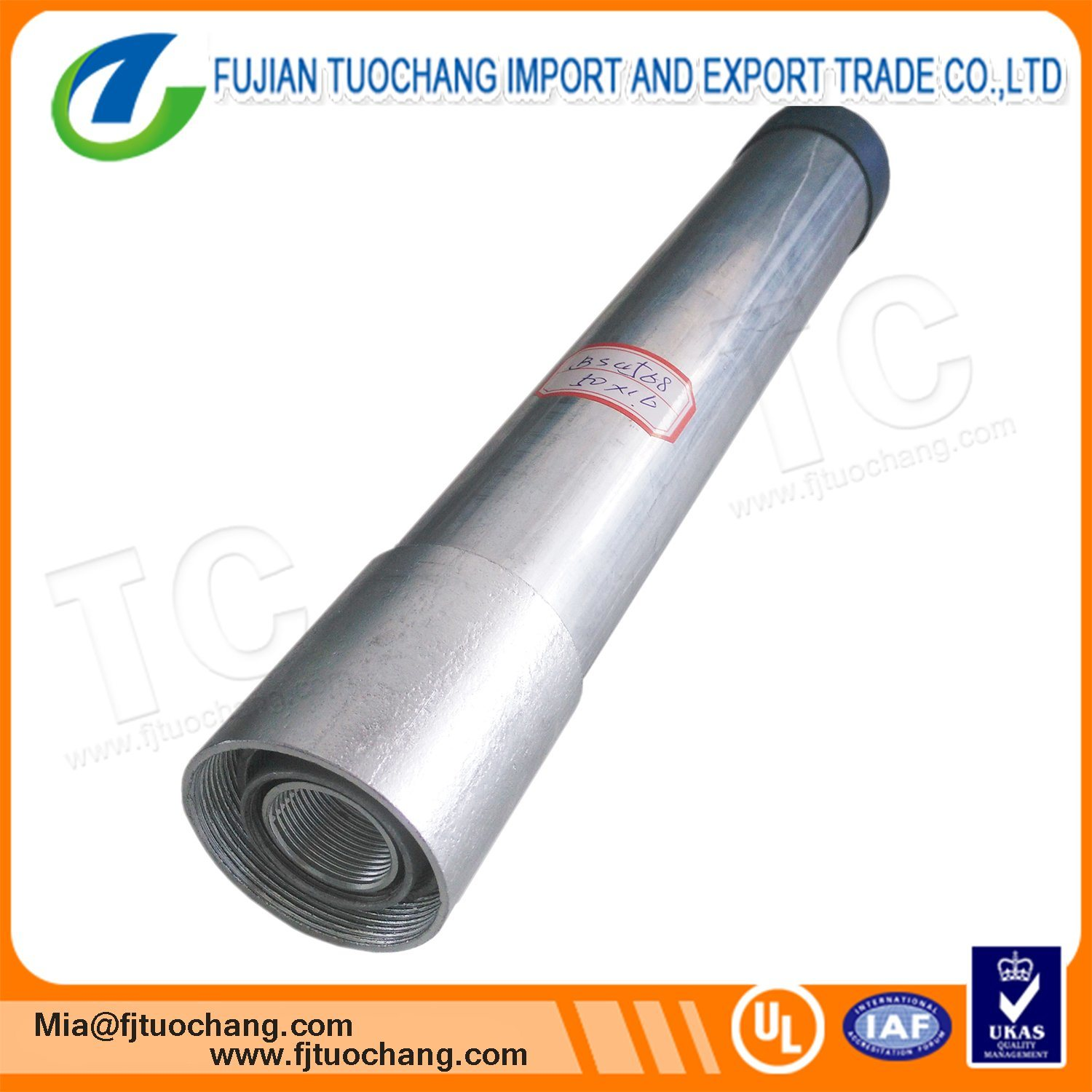 China Electrical Wire Conduit Galvanized Steel Pipe Photos Wiring