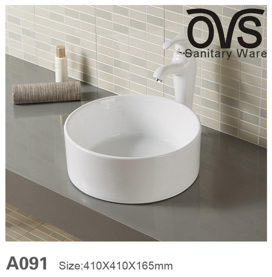 China Cylindrical Type Wash Basin Color Basin Bathroom Vanity Top Basin China Wash Basin Bathroom Vanity