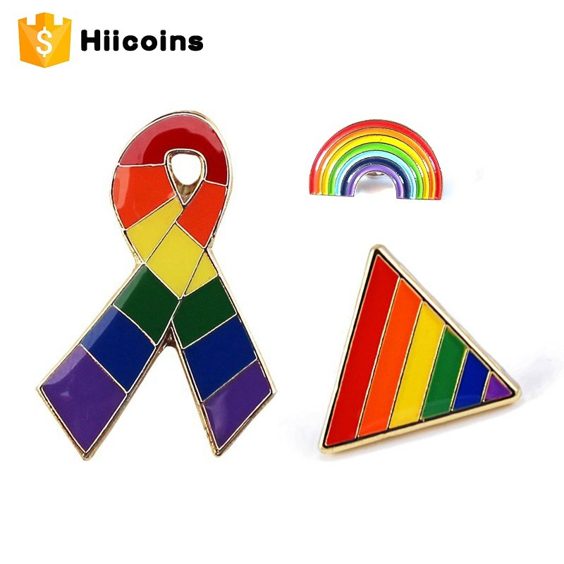 Custom gay lapel pins