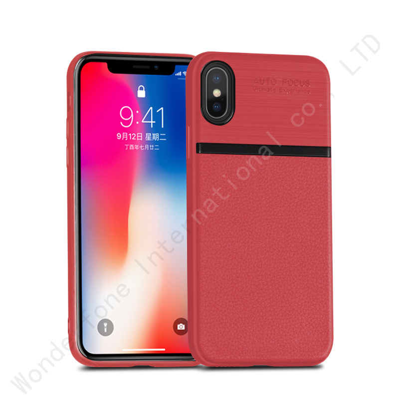 huge discount 37443 c1eab [Hot Item] Soft TPU Auto Focus Shock Proof Cover for iPhone X