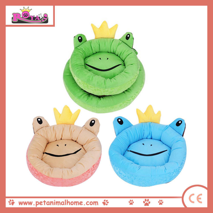 Cartoon Cute Forg Pet Bed