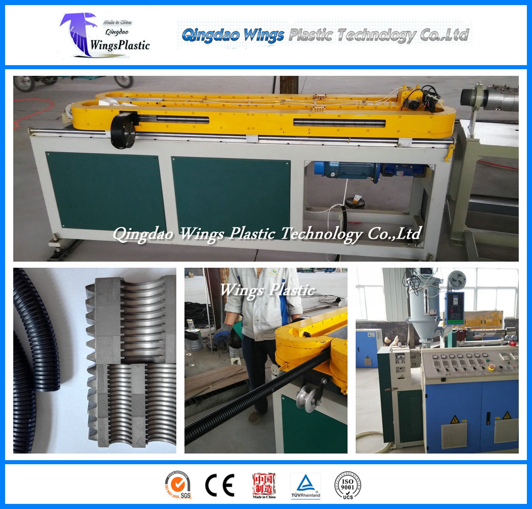 High Quality Single Wall Corrugated Hose Making Machine, Corrugated Pipe Plant pictures & photos