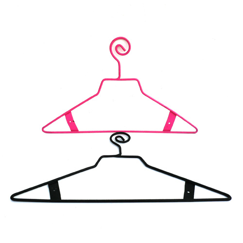 China OEM New Design Plastic Wire Clothes Hanger - China Plastic ...