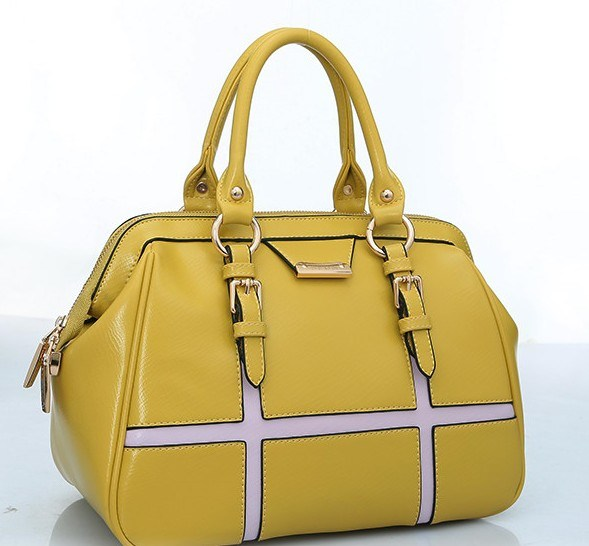China Manufacturer Bright Color Fashion Ladies PU Designer Handbags (BDM002)