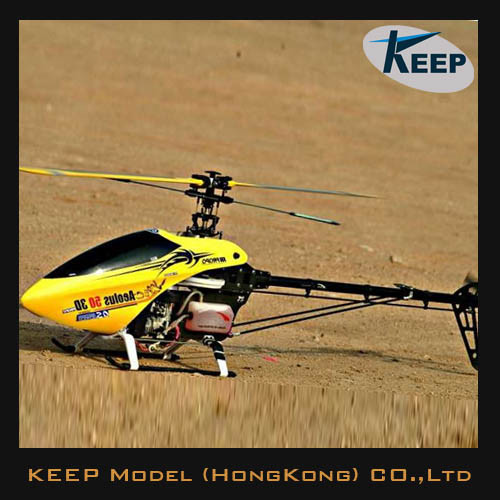 [Hot Item] New 50 3D Rtf Big Nitro Gas Powered RC Helicopter