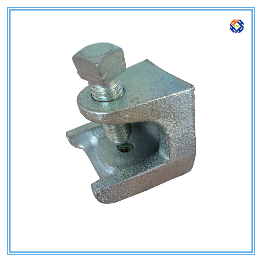 Malleable Cast Iron Beam C Clamp for Electric Industry, Investment Casting